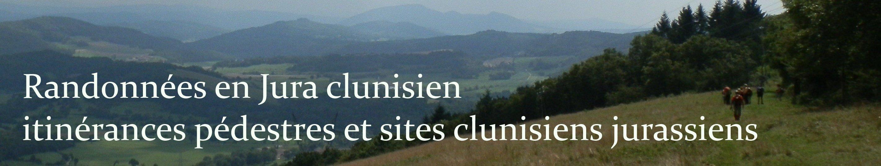 Randonnées en Jura clunisien…